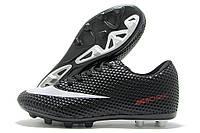 Копы подростковые Nike Mercurial Walked черные (найк меркуриал)
