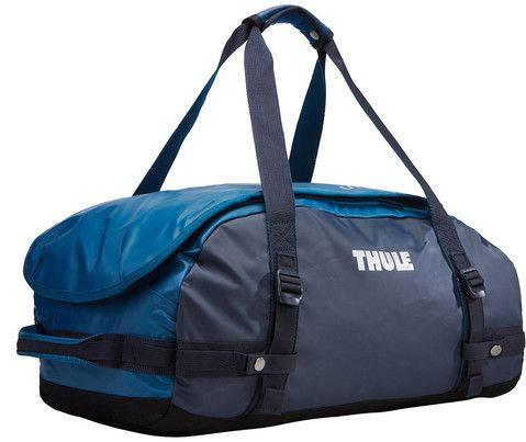 Удобная дорожная спортивная сумка на плечо 40 л. Thule Chasm 221102 синий