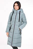 Теплое зимнее женское пальто