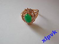 Кольцо Green Emerald -Изумруд-Super-19р-ИНДИЯ