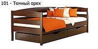 Кровать Нота Плюс 80*190 массив