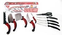 Набор кухонных ножей Contour Pro +магн рейка