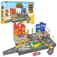 Детский гараж 0973. Полицейский и пожарный участок