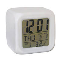 Часы хамелеон, термометр, будильник, ночник, Б32