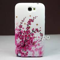 Пластиковый чехол Samsung Galaxy Note 2 N7100, E2