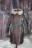 Женское зимние пальто Лия шоколад  Nui Very (Нью Вери)  купить  в Украине от производителя