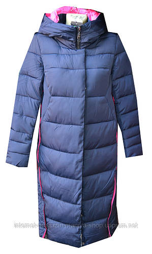 Куртка женская зима удлененная