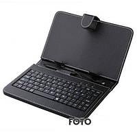 "Чехол с англ клавиатурой 7"", Micro usb, Б139"