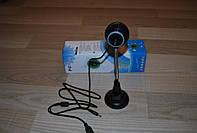 USB Web Веб камера с микрофоном на ножке, Б97