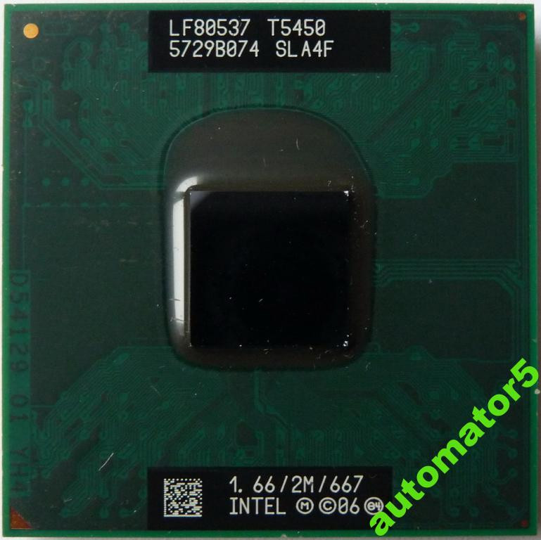 Soc.P C2D T5450 (M0) 2M/1.66GHz/667 MHz+термопаста