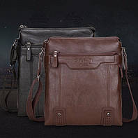 Красивая мужская сумка Polo. Мужская кожаная сумка. Сумки через плечо. Сумки кожаные. Барсетка.
