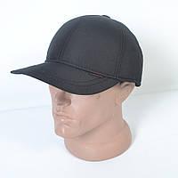Мужская теплая кепка на флисе с ушками - 29-447