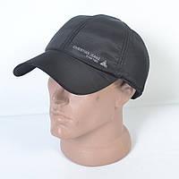 Мужская модная утепленная кепка на флисе с ушками - 29-455