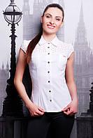 Белая рубашка женская хлопок