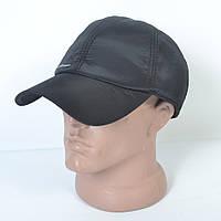 Мужская модная утепленная кепка на флисе с ушками - 29-456