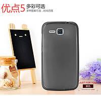 Чехол силиконовый для Huawei Y600, Q80