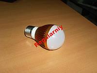 Лампочка LED светодиодная 220В цоколь обычный Е27