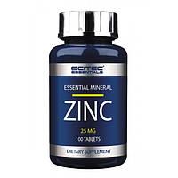 Витамины и минералы Scitec Nutrition Zinc 25 mg. (100 таб.)