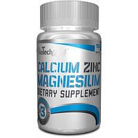 Витамины и минералы BioTech USA Calcium Zinc Magnezium (100 таб.)
