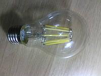 Светодиодные филаментные лампы Е 27, груша А 60, 8 вт, 850lm