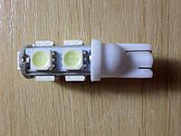 9led SMD5050 яркие LED лампы T10, W5W