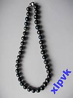 Ожерелье Натуральный Черный Peacock Жемчуг 11 мм-Австралия -Эксклюзив