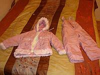 Комбинезон теплый для девочки 4-6 лет