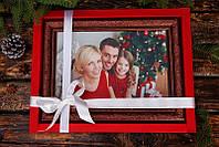 Новогодний подарок со вкусом шоколада. Картина с Вашим фото.