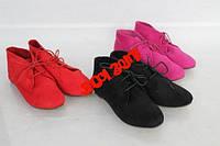 Ботиночки розовые и черные 38р