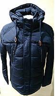 Зимняя мужская куртка Kings wind 5W40-3 синяя оригинал