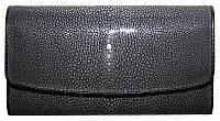 Кошелёк из шлифованной кожи ската ST 52 SA Black