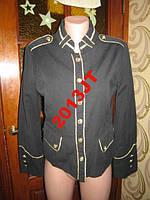 Пиджак черно золотой  размер с-м