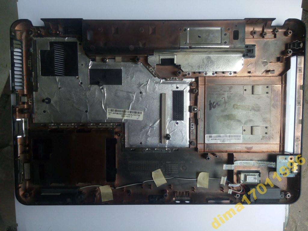 Корпус (поддон дно корыто низ) Lenovo G555