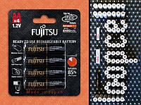 БЛИСТЕР 4шт аккумулятор FUJITSU AA 2550mAh ENELOOP