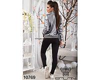 Стильная женская куртка, цвет: Серебро, (эко кожа) (42-46), доставка по Украине