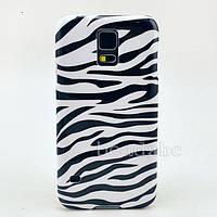 Пластиковый чехол Samsung Galaxy S5 mini G800, E1