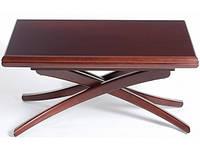 Стол трансформер журнально-обеденный деревянный Спайдер