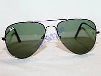 Очки Ray Ban AVIATOR 3026 Титан Зеленый СТЕКЛО