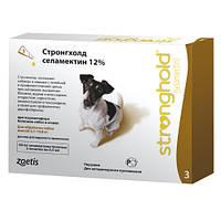 Капли Стронгхолд (Stronghold) маленькие собаки (5,1-10,0 кг) пипетка 60 мг (0,5 мл)