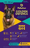Palladium GOLDEN DEFENCE Капли на холку для собак весом от 20 до 30 кг 4 пипетки