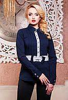 Элегантная блуза в деловом стиле 42-50р