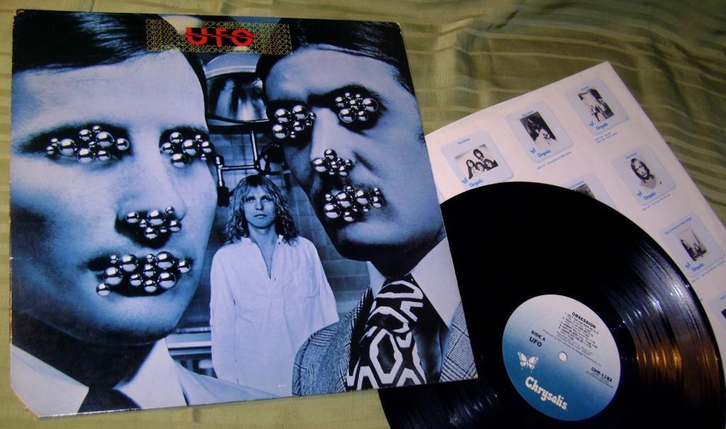 UFO  OBSESSION  1978   Chrysalis USA  EX - /  ~ NM