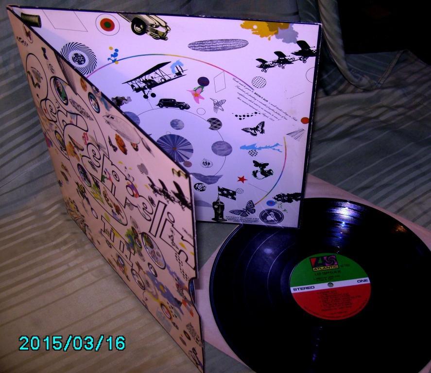 Led Zeppelin III 1970  Atlantic  USA   EX++ /  ЕХ
