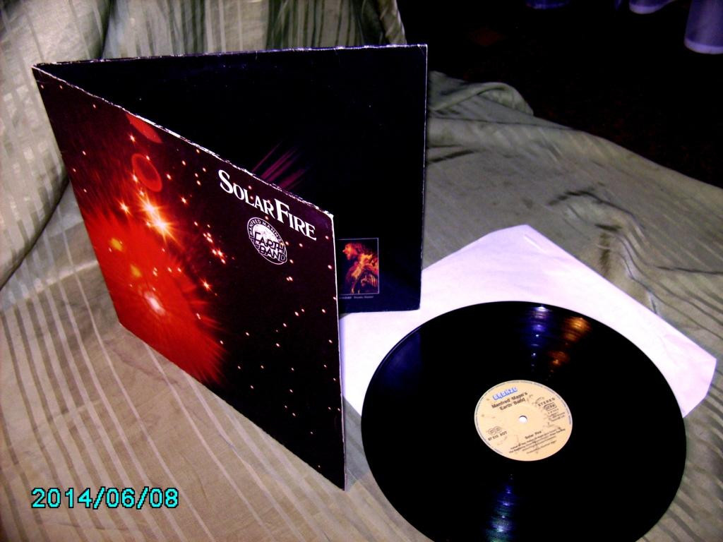 M.Mann's & E.Band Solar Fire 1973  BRONZE gema