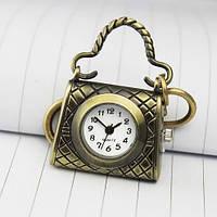 Брелок - Кулон - Часы. СУМОЧКА + карабин + цепь