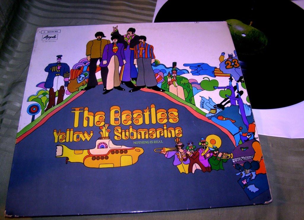 The Beatles  Yellow Submarine '69  Apple GEMA  VG+