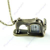 Ожерелье - кулон - часы - Швейная машинка