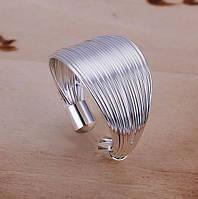 Кольцо - НИТОЧКИ - покрытие Серебром 925