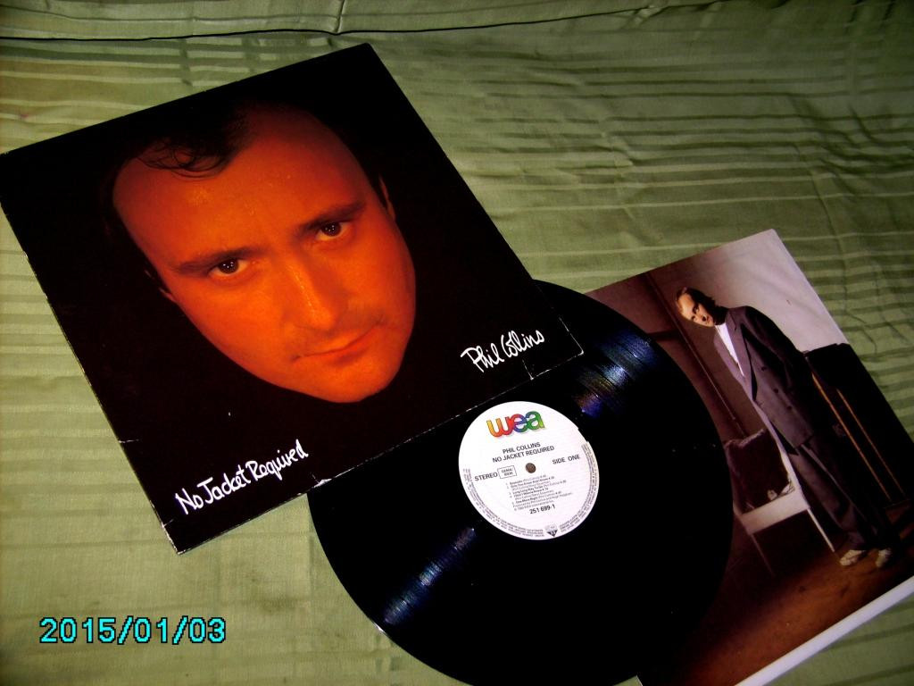 Phil Collins  No Jacket...1985  WEA GEMA   NM / NM