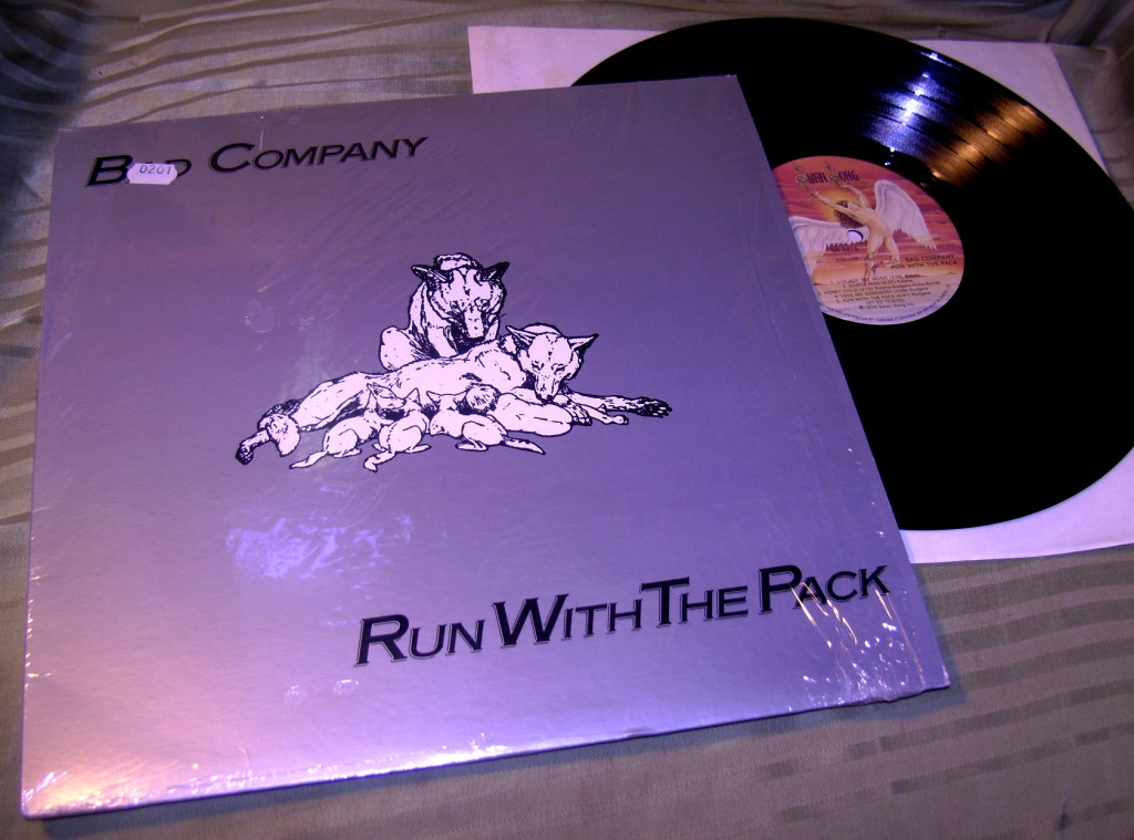 Bad Company  Run With..'76    SS Canada  NM / ~ NM